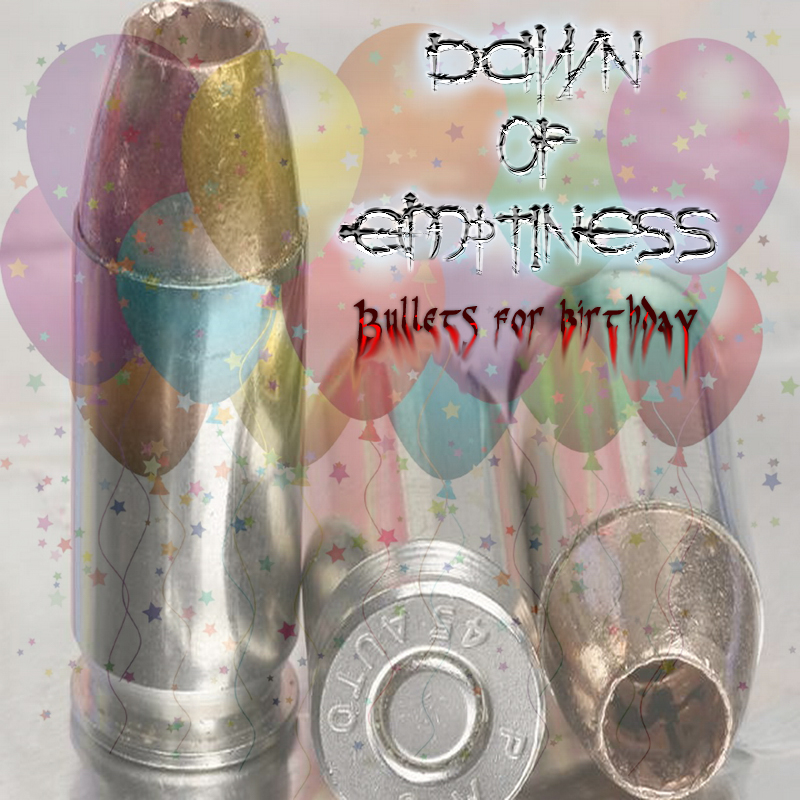 bullets for birthday cover